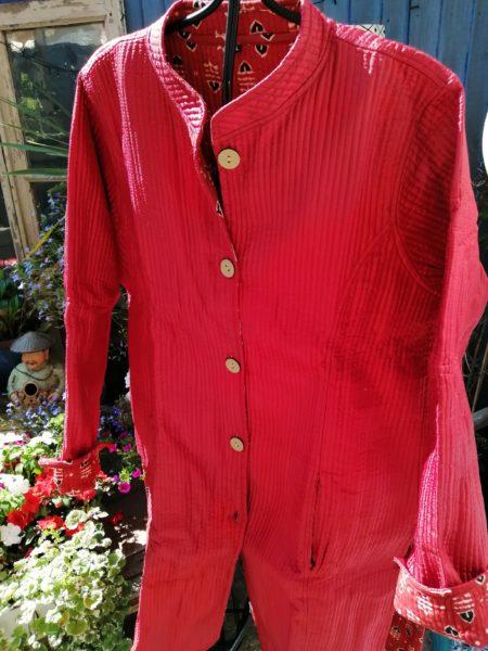 Cotton reversible jacket